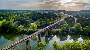 Etowah River Aerial
